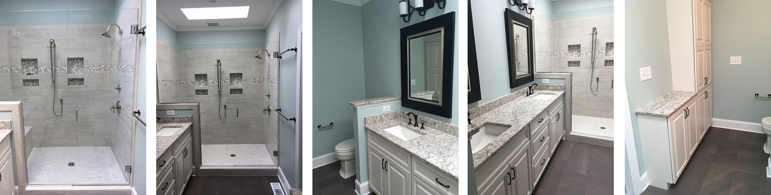 After Raleigh Bathroom Remodel